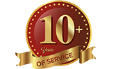 10+ years of services